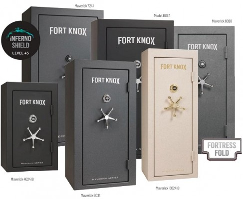 Fort Knox Maverick Series Range Guns And Safes