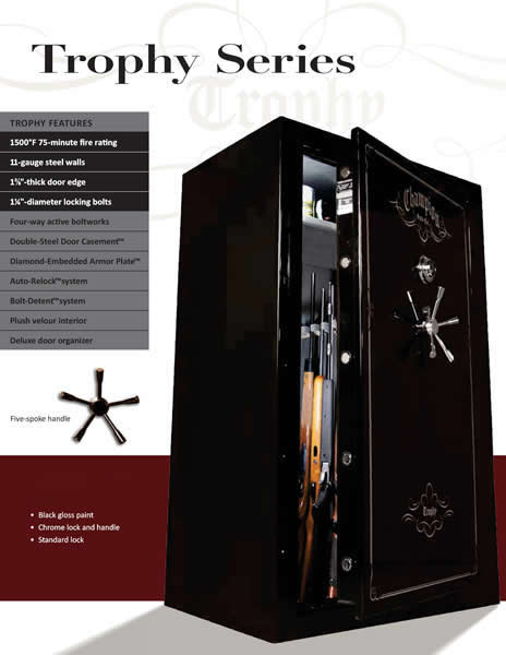 Champion Trophy Series Safes